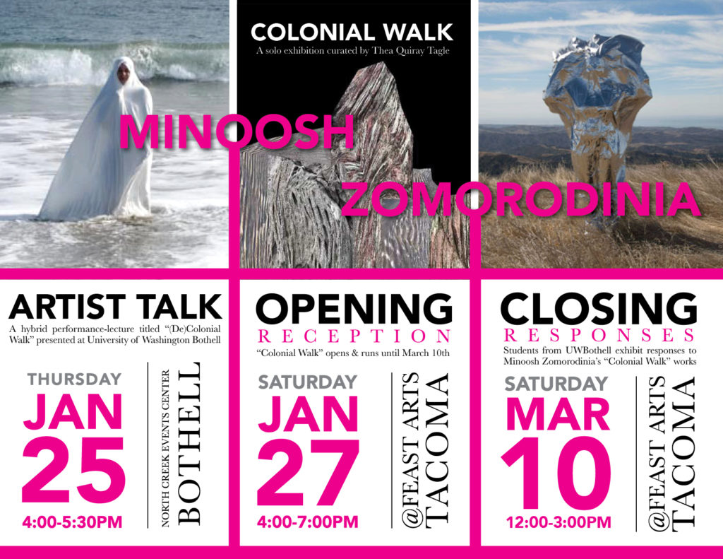 Minoosh Zomorodinia: Colonial Walk